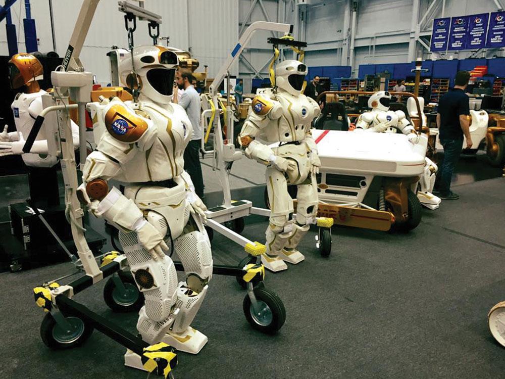 Robotics, Avatars and Holograms