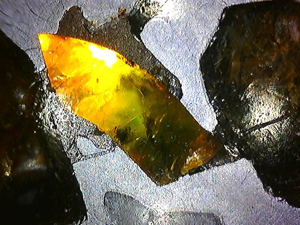 Meteorite Pallasite