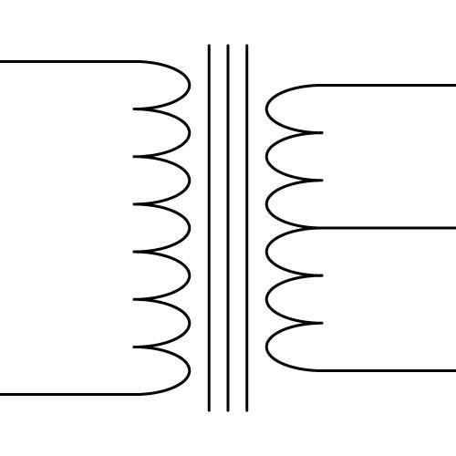 Register of Symbols |Tapped Resistor Symbol